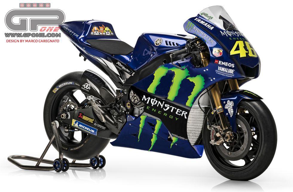 MotoGP, Monster Energy new Yamaha title sponsor from 2019 ...