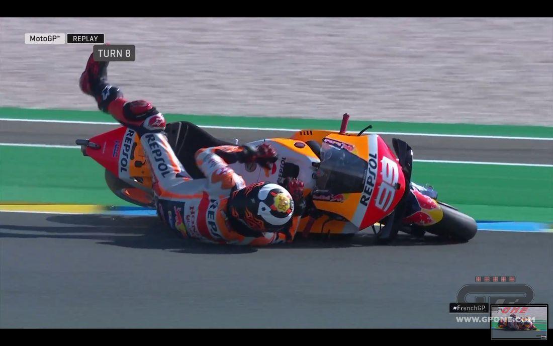 MotoGp, in Francia vince Marquez davanti a Dovizioso e Petrucci