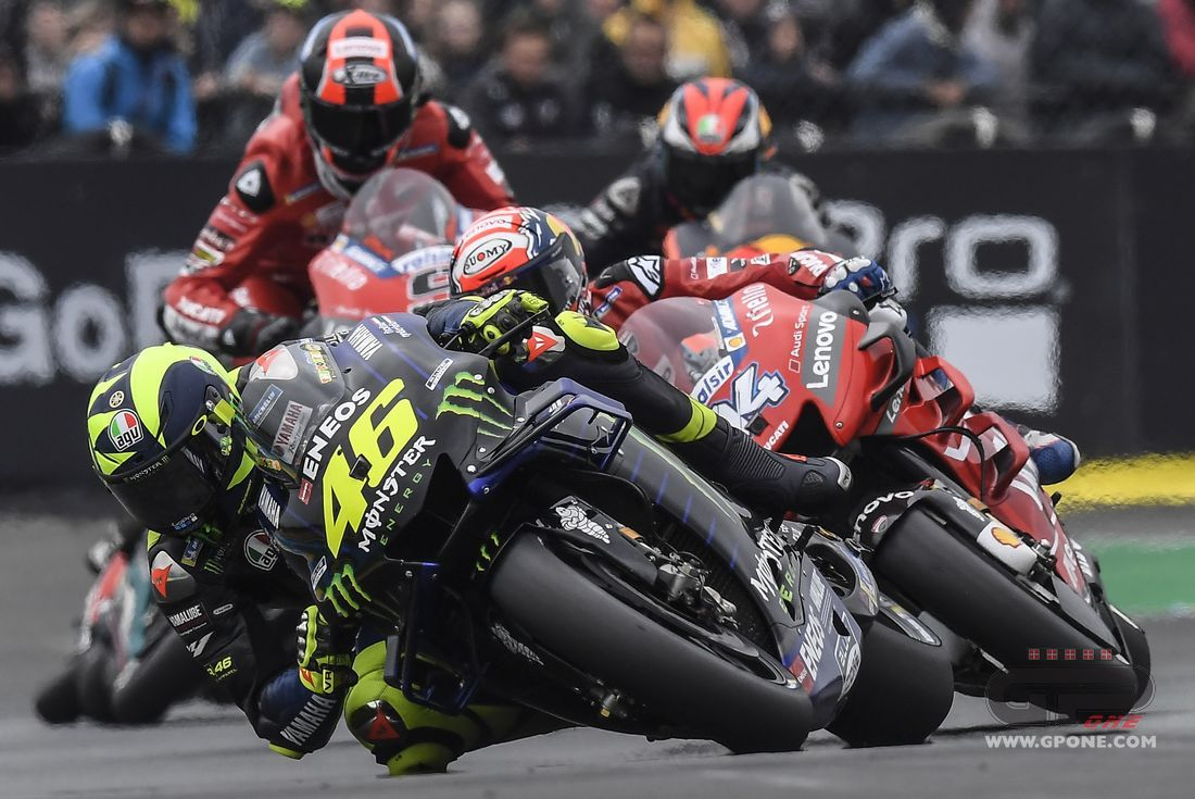"""MotoGP, Rossi: """"The problem is the engine, the new M1 in the Brno tests"""""""