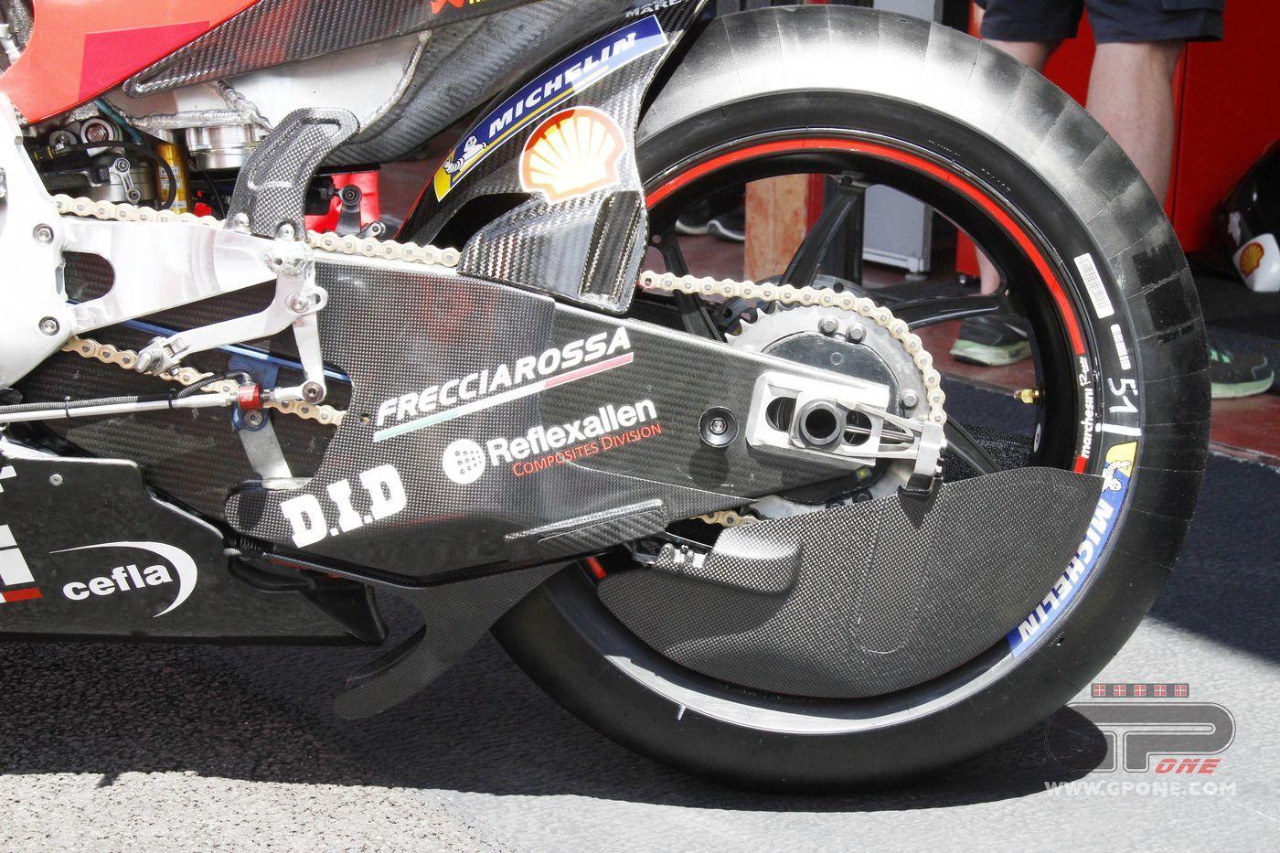 Motogp Ducati Closes The Wheel New Aerodynamics On Pirro S Bike Gpone Com