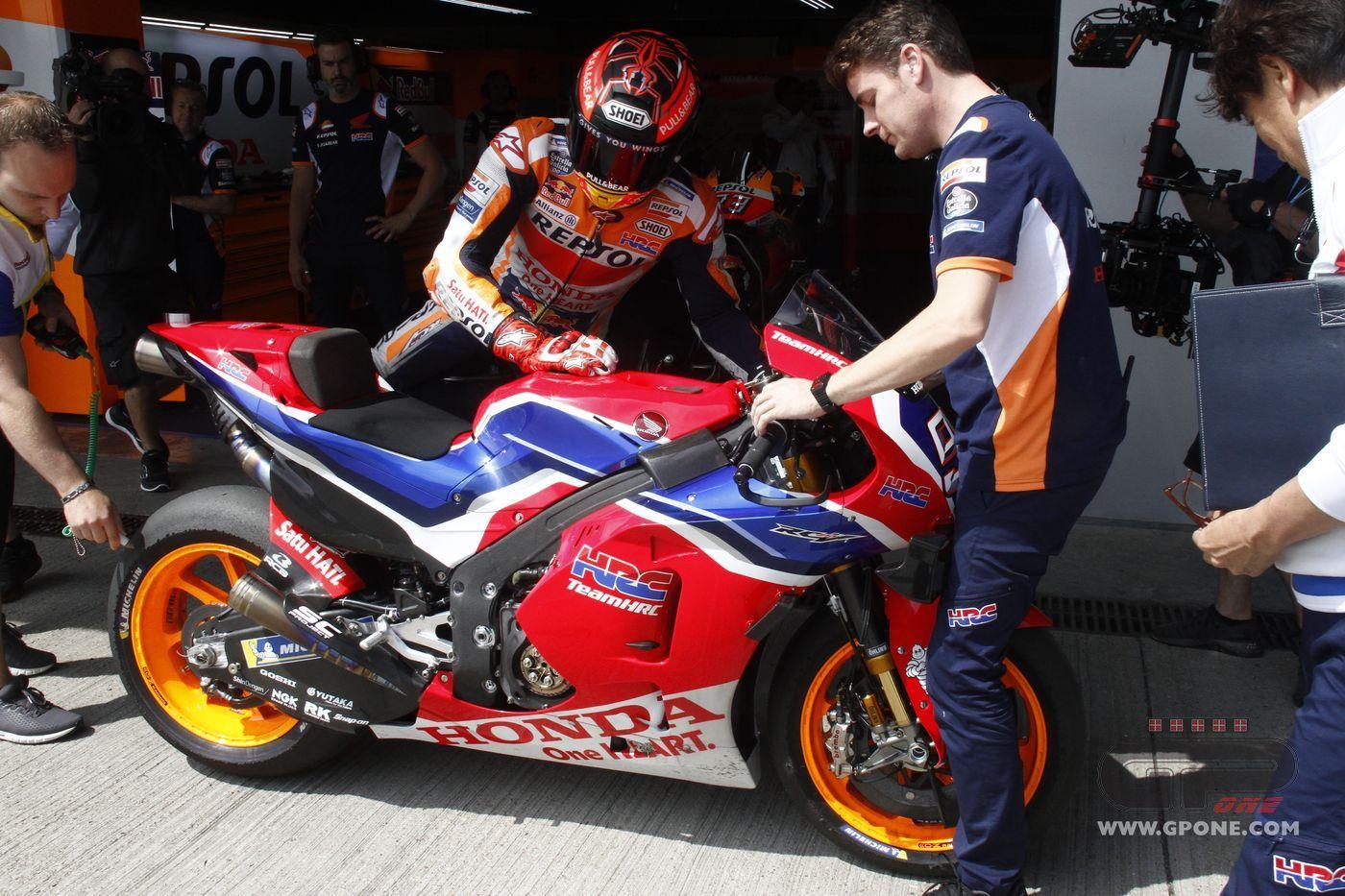 "MotoGP, Marquez: ""the 'carbon' Honda? I Won't Use It In"