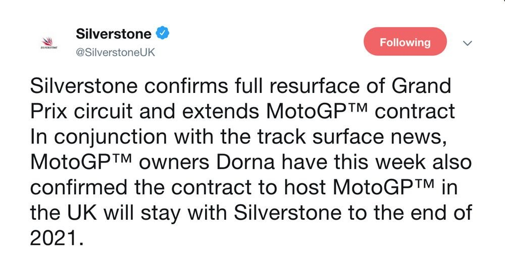 Silverstone to be resurfaced for second time in two years