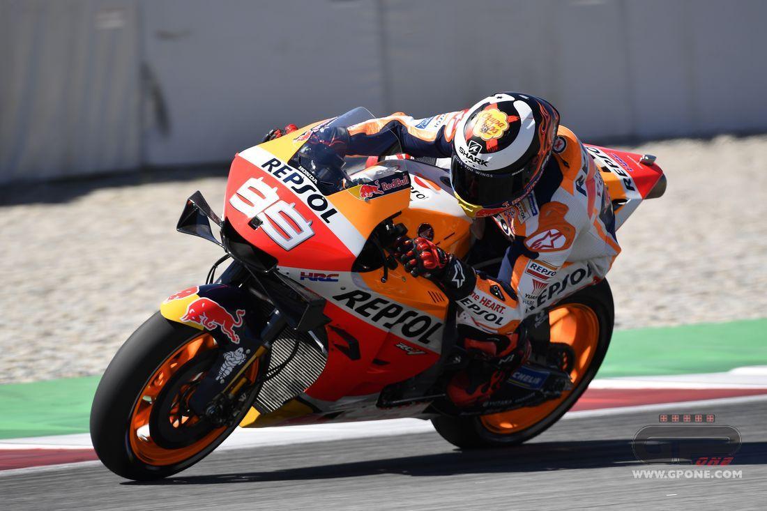 "MotoGP, Lorenzo: ""A fall at 200 km/h, it scared me"""