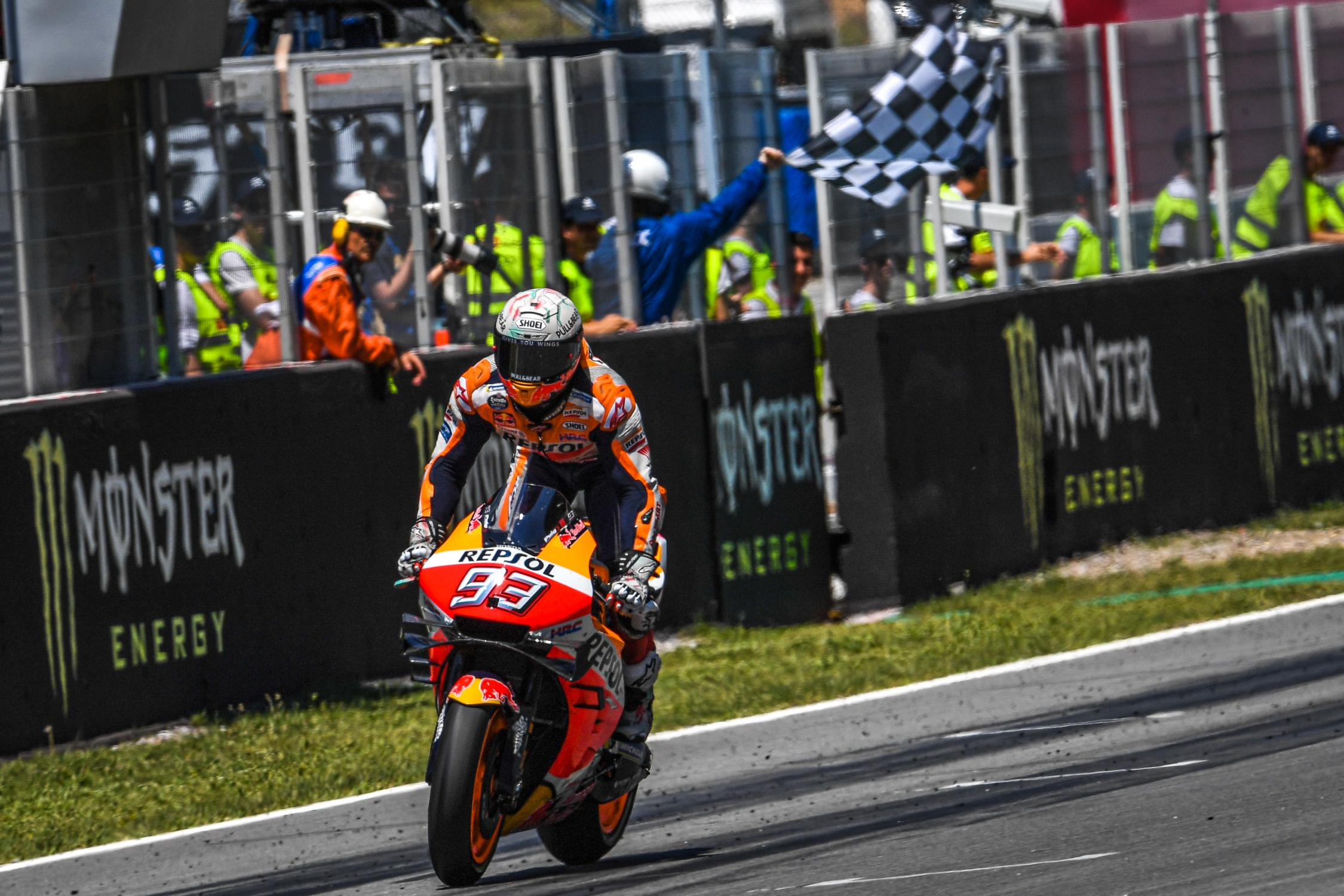 "MotoGP, Marquez: ""Lorenzo wasn't out of control, he doesn't deserve a penalty"""