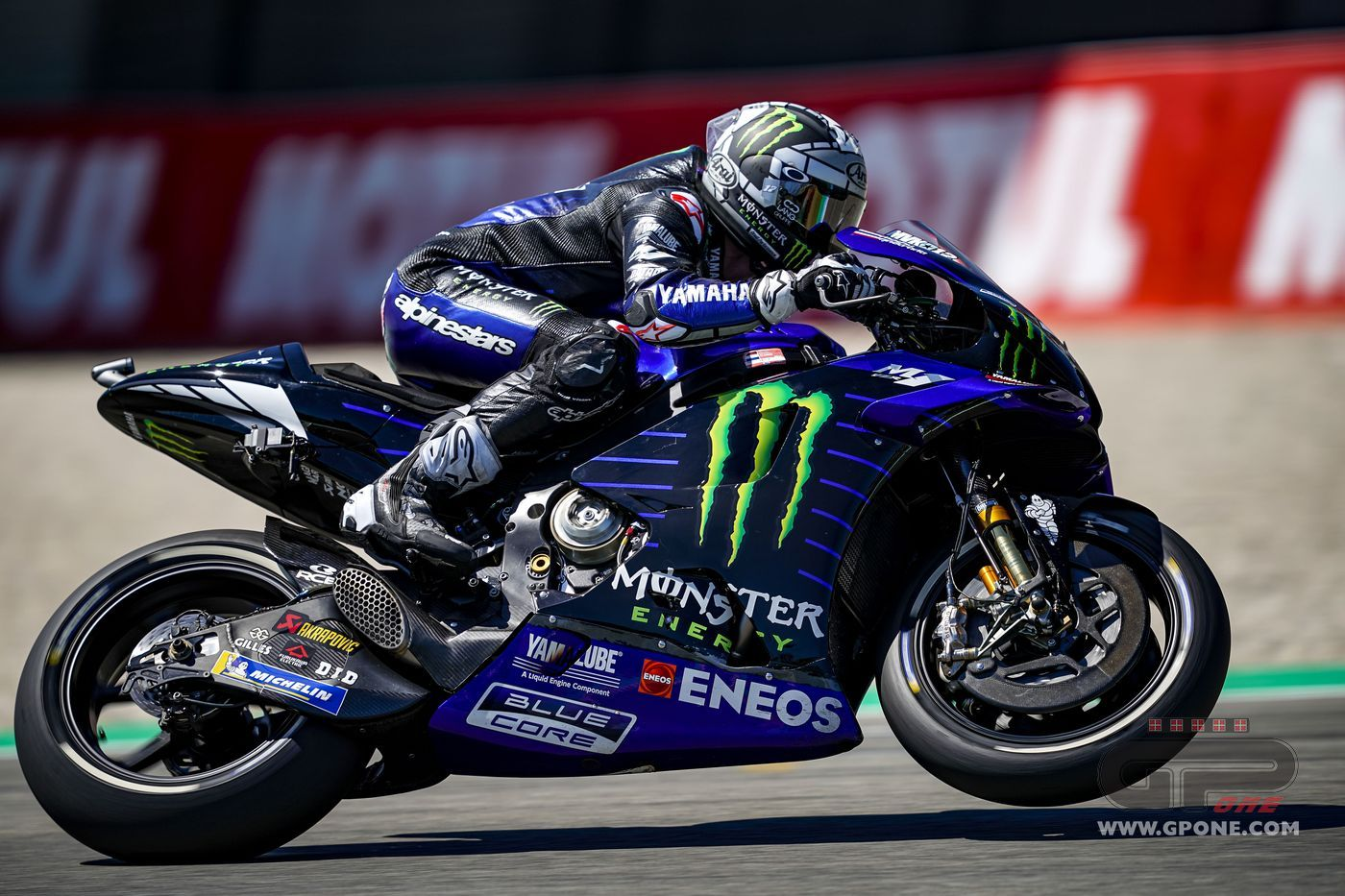 MotoGP, Vinales brings Yamaha back to the top, Rossi took a fall