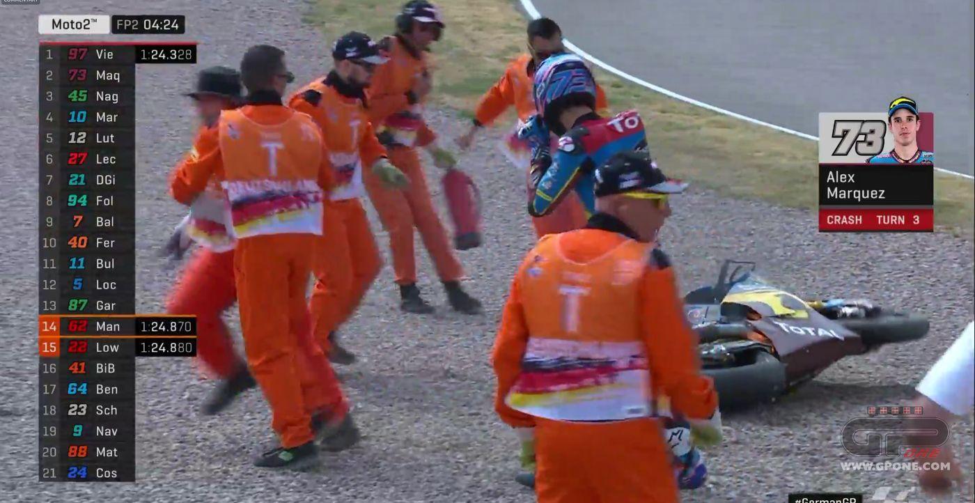 Moto2, A. Marquez vince gp Germania