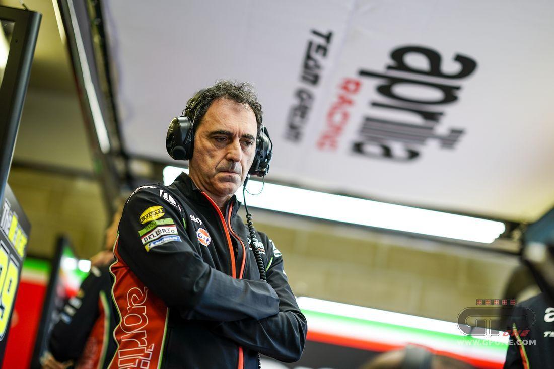 """MotoGP, Albesiano: """"Aprilia preparing a revolution for 2020"""""""