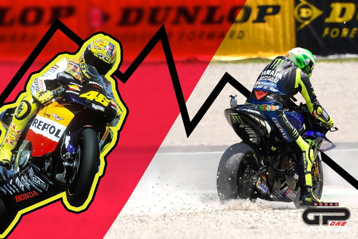MotoGP, The Doctor seeks a cure: Rossi's downhill trend