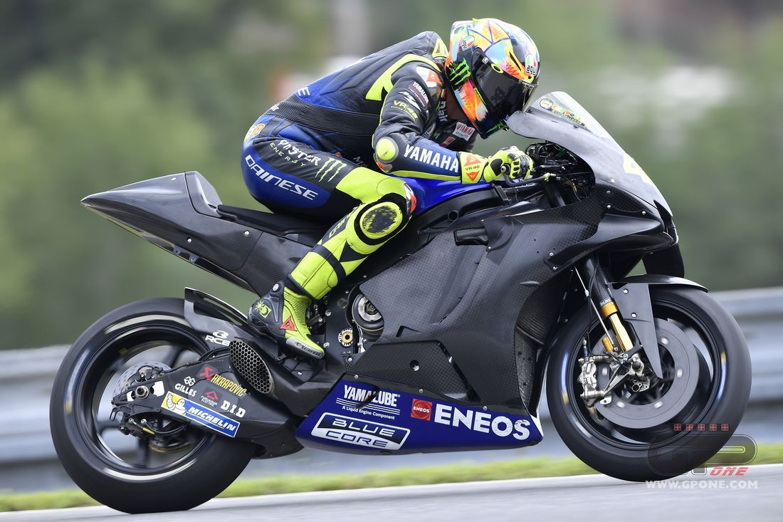 Motogp Rossi The New Engine It Gives A Little Something But It Needs Something More Gpone Com