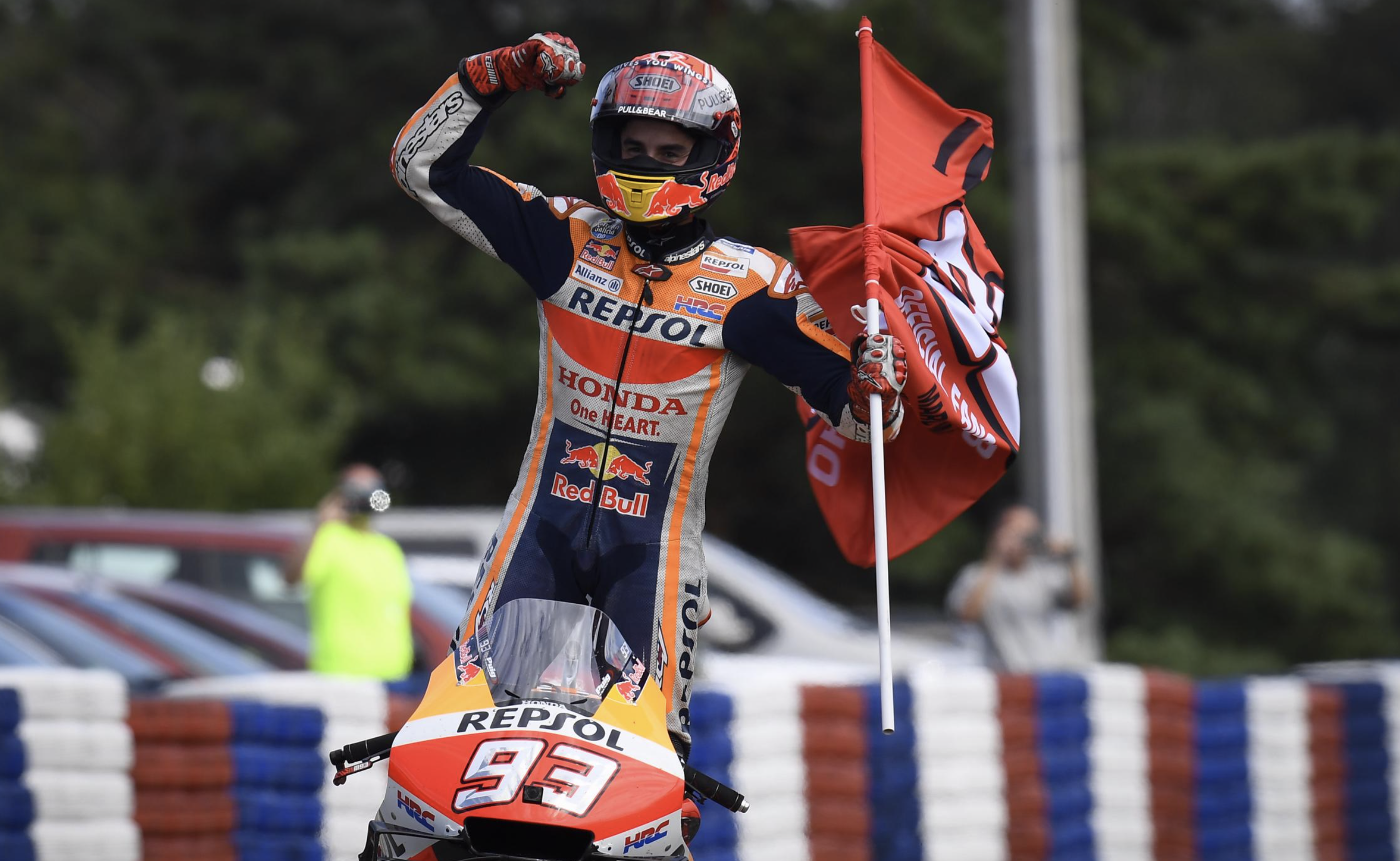 "MotoGP, Marquez: ""I don't have friends on the track, four laps on"