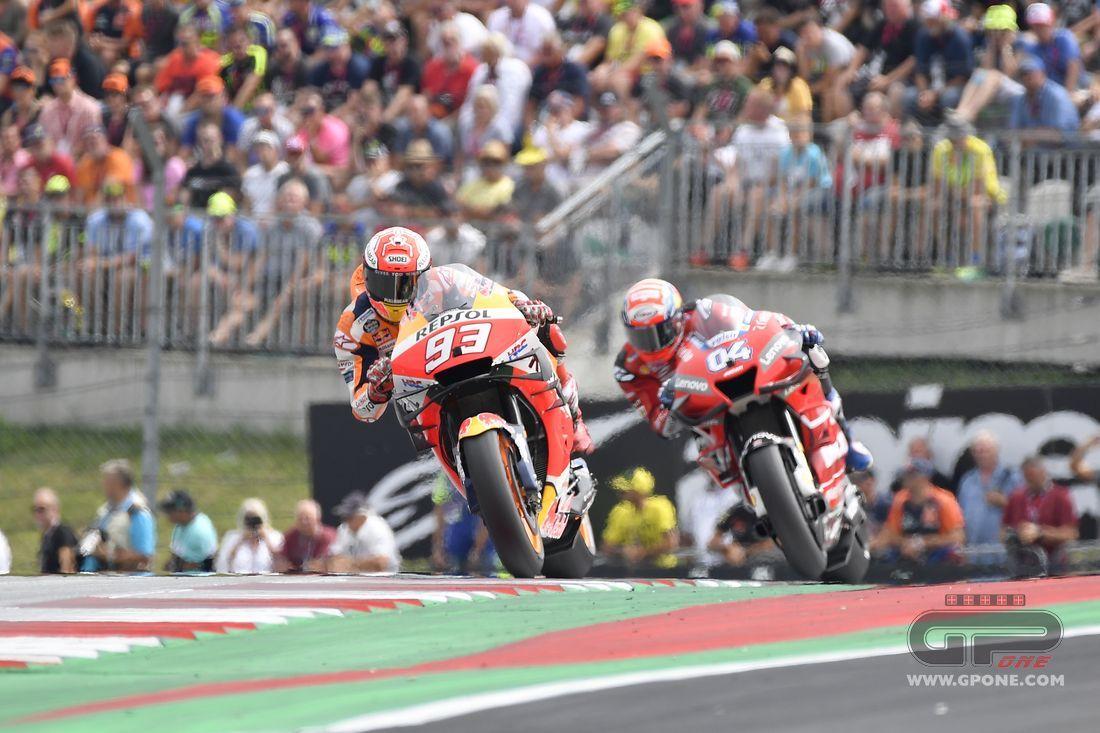 MotoGP, Dovizioso beats Lorenzo, Marquez one podium away from Agostini