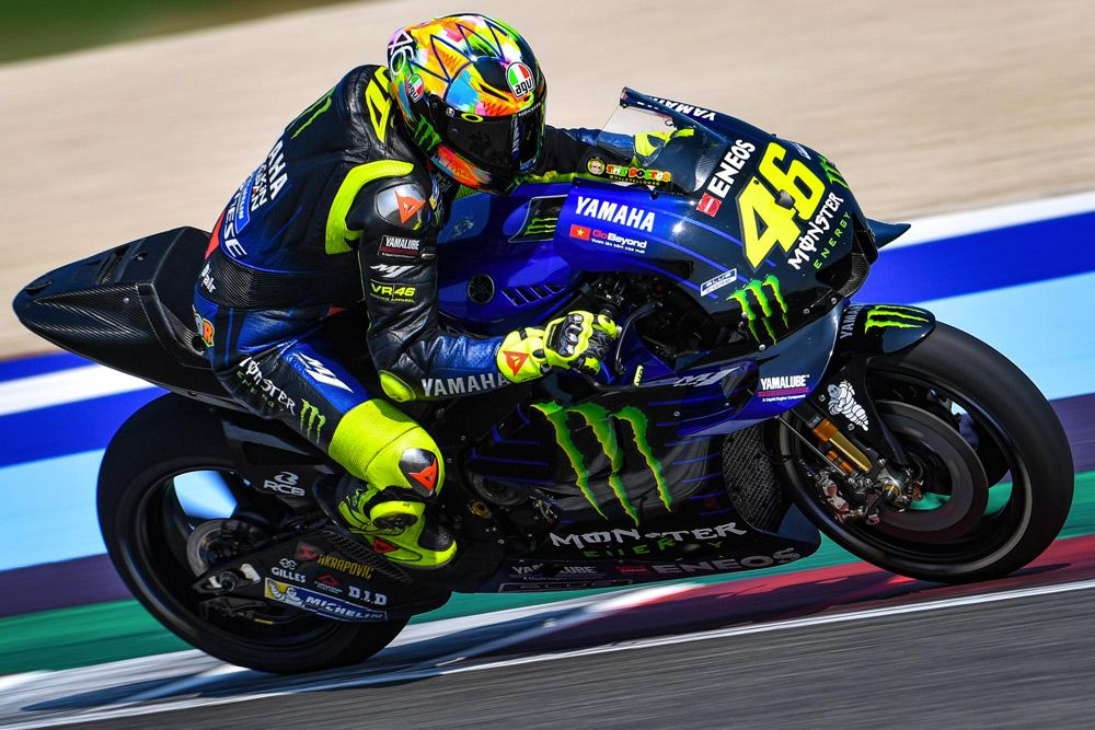 """MotoGP, Rossi: """"The new engine? We need more, the road is ..."""