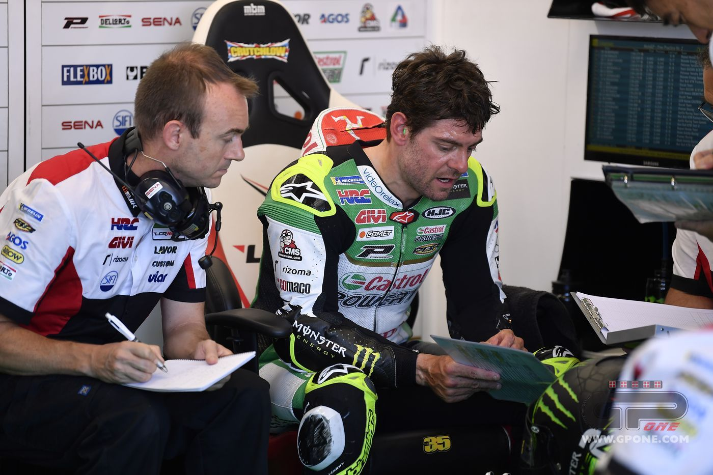 "MotoGP, Crutchlow doesn't make excuses: ""But I was faster with the"