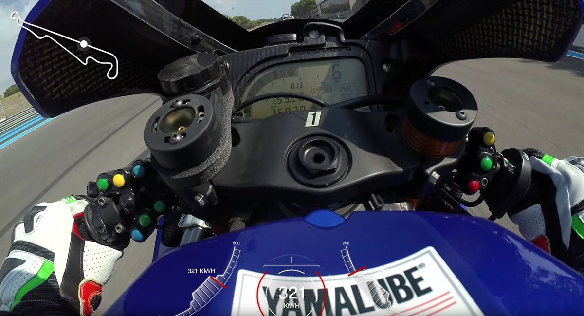 Canepa takes us to over 320 km/h at Paul Ricard: onboard