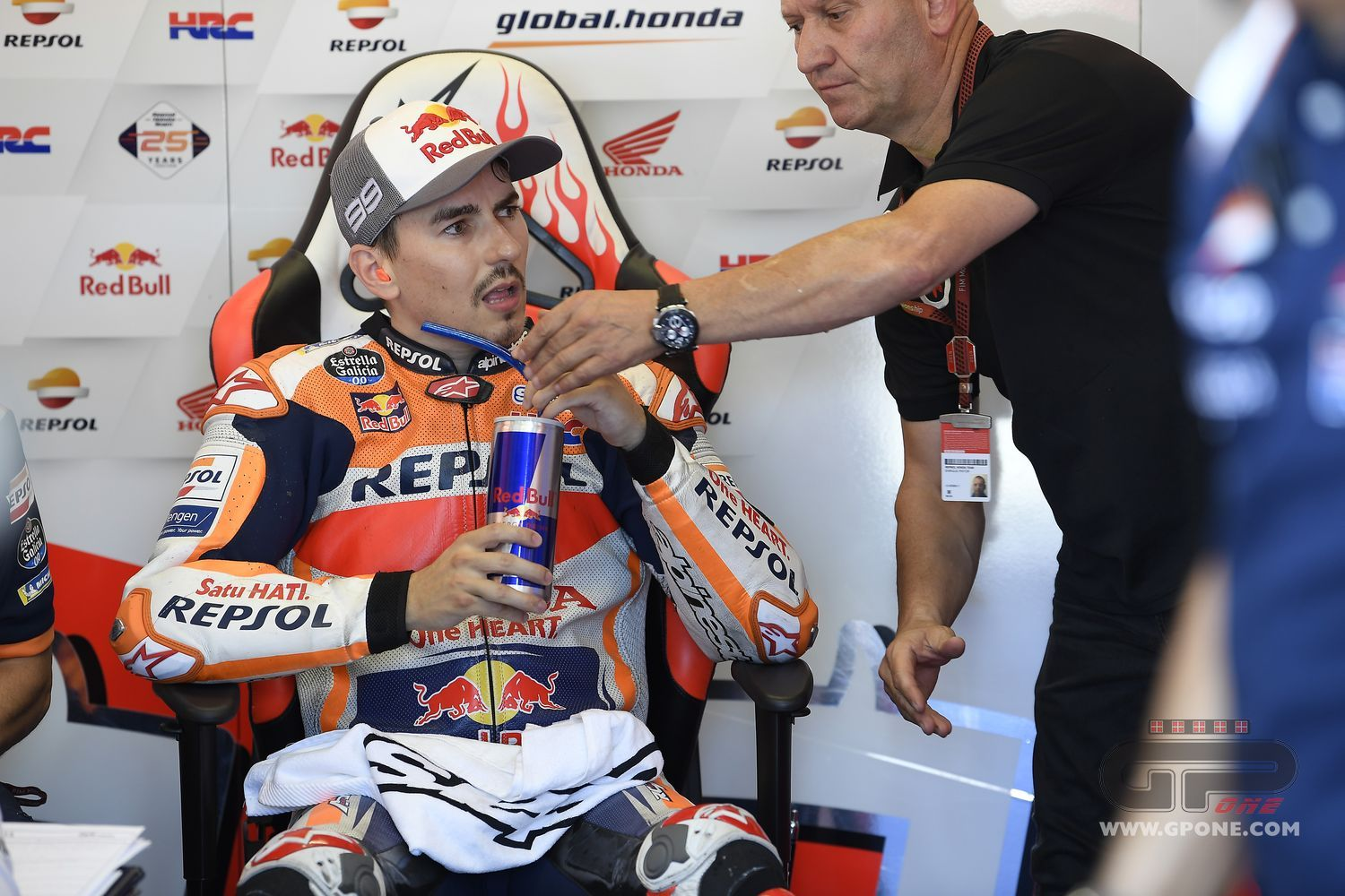 "MotoGP, Lorenzo: ""You can't see it from outside, but I'm improving."""