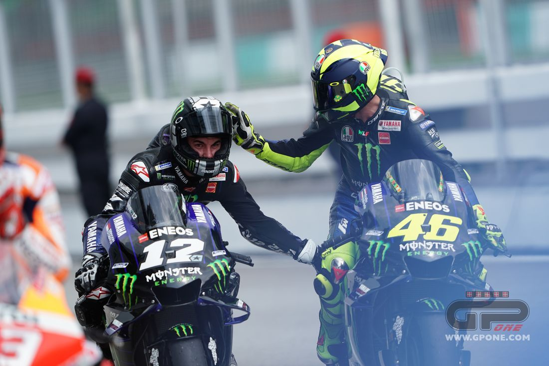 Motogp Rossi Nice To Battle With Dovizioso There S Fair Play Among Old Timers Gpone Com