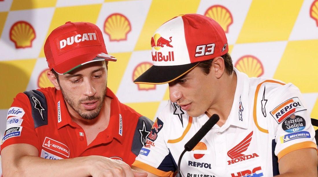 "MotoGP, Dovizioso: ""To beat Marquez and Honda, we have to invent"