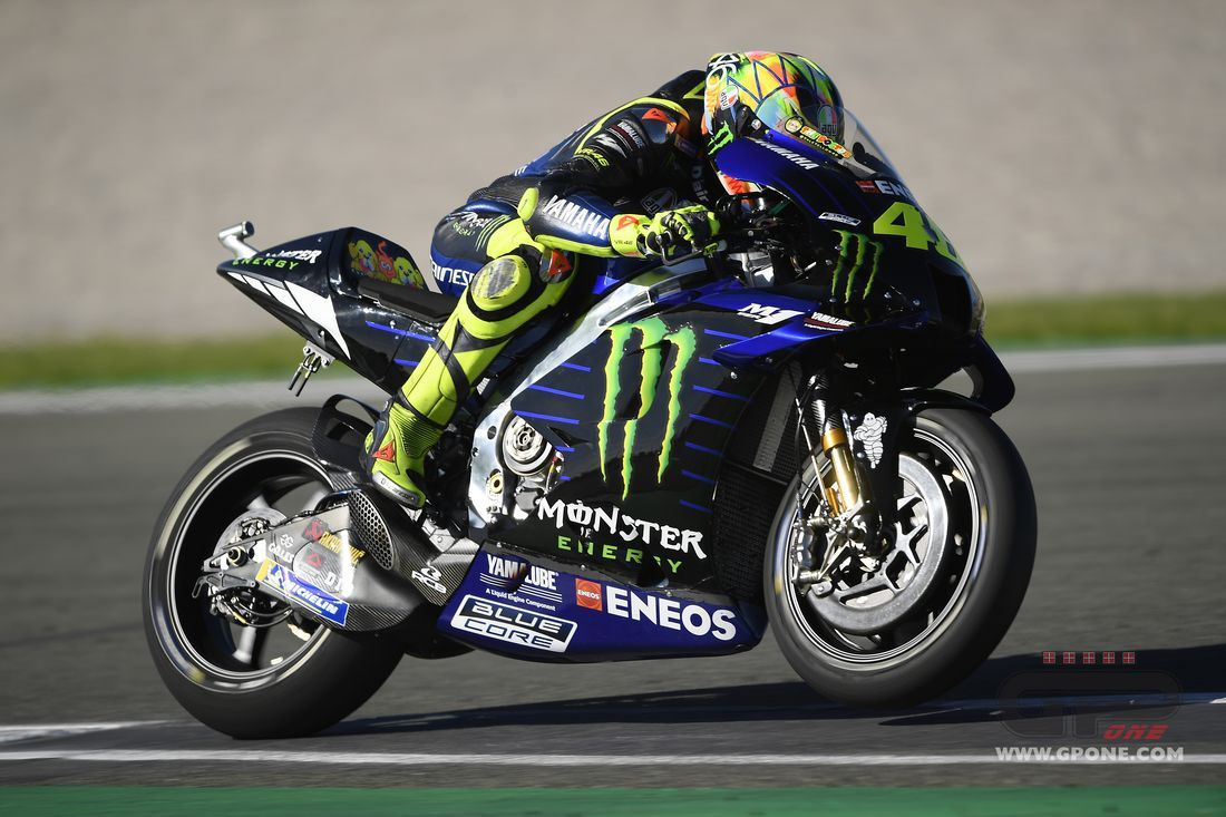 """MotoGP, Rossi: """"The problem with the 2020 M1? A one euro part, as"""