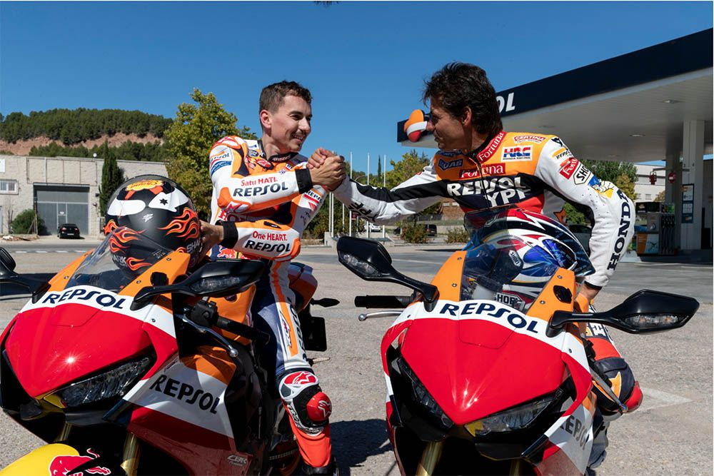 "MotoGP, Lorenzo riding with Criville: ""the first time at 3, the"