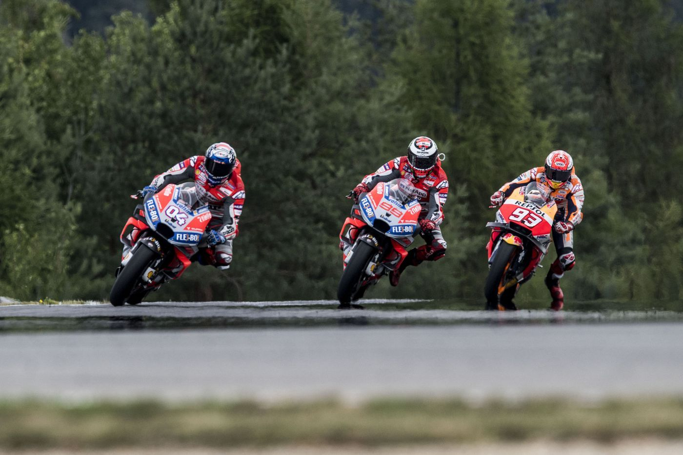Ducati in the eye of the needle: Dovi and Petrux between Brno and