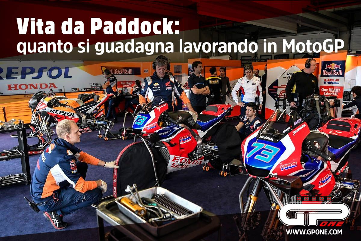 Motogp Paddock Life How Much Can You Earn Working In Motogp Gpone Com