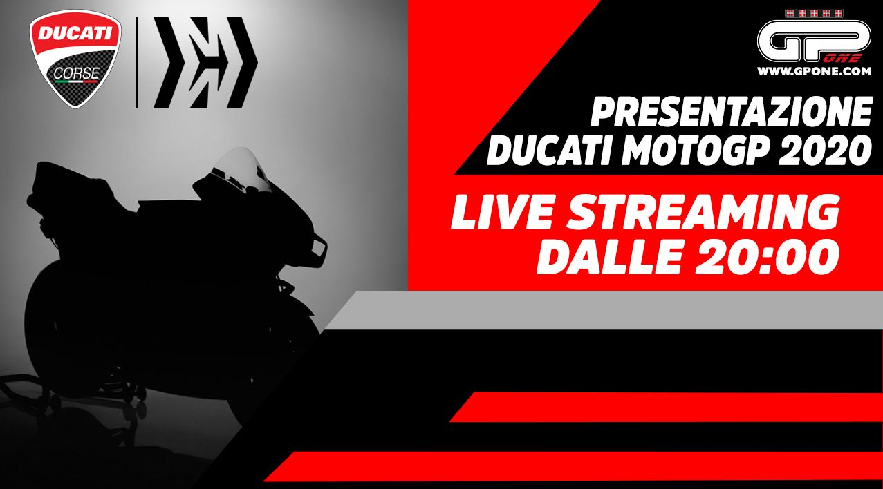 MotoGP, Ducati MotoGP 2020: Live streaming of the presentation on