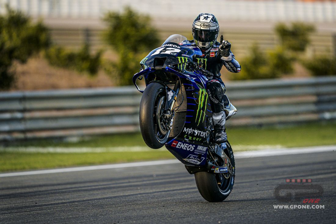 """MotoGP, Vinales: """"In the Sepang tests a device for the start on the"""