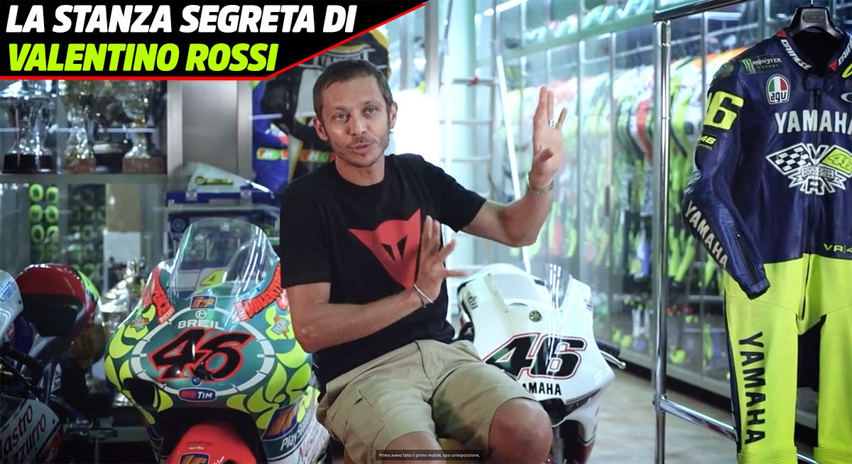 MotoGP, Valentino Rossi's secret room: the Doctor's treasure