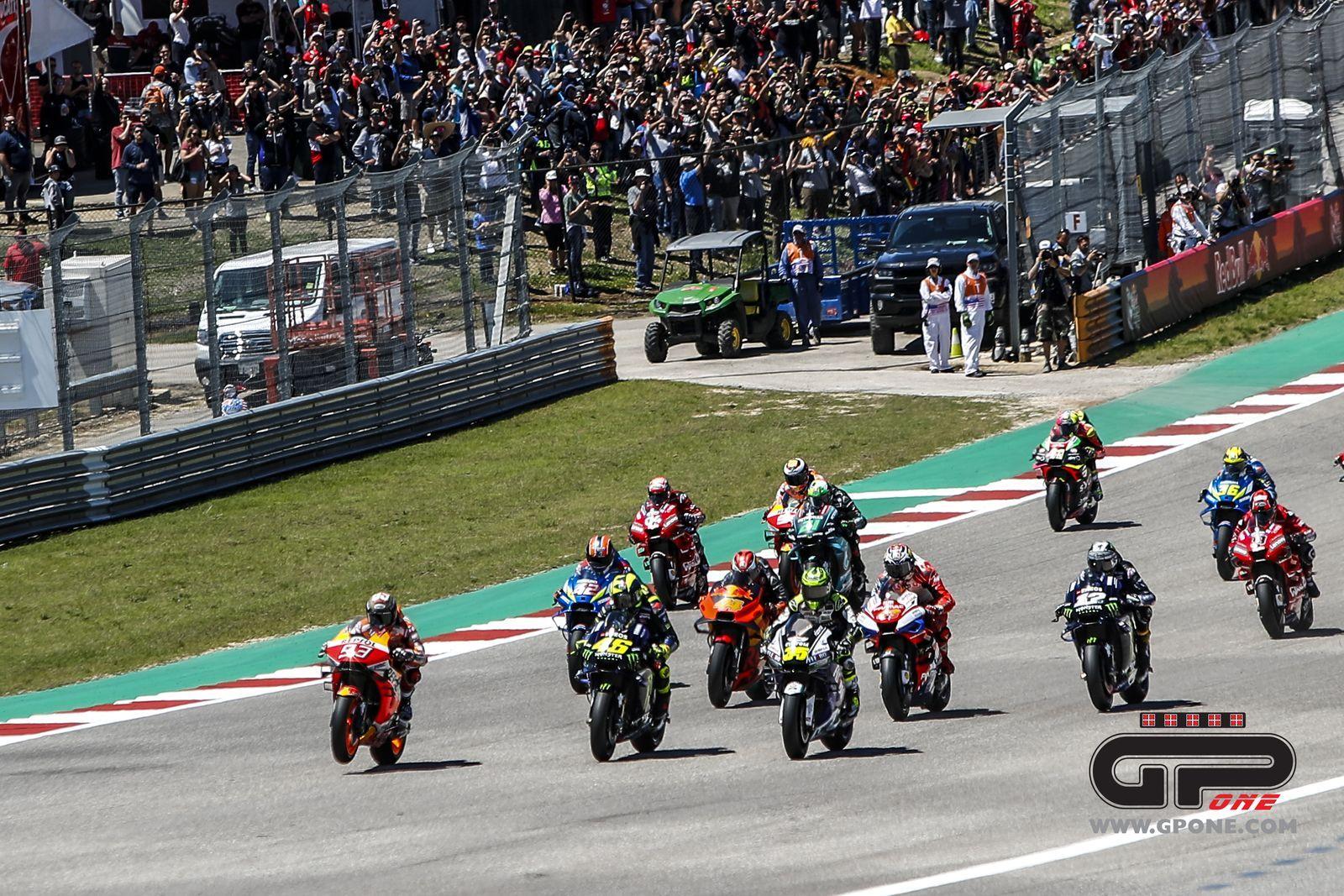 MotoGP, More time on TV during start procedure