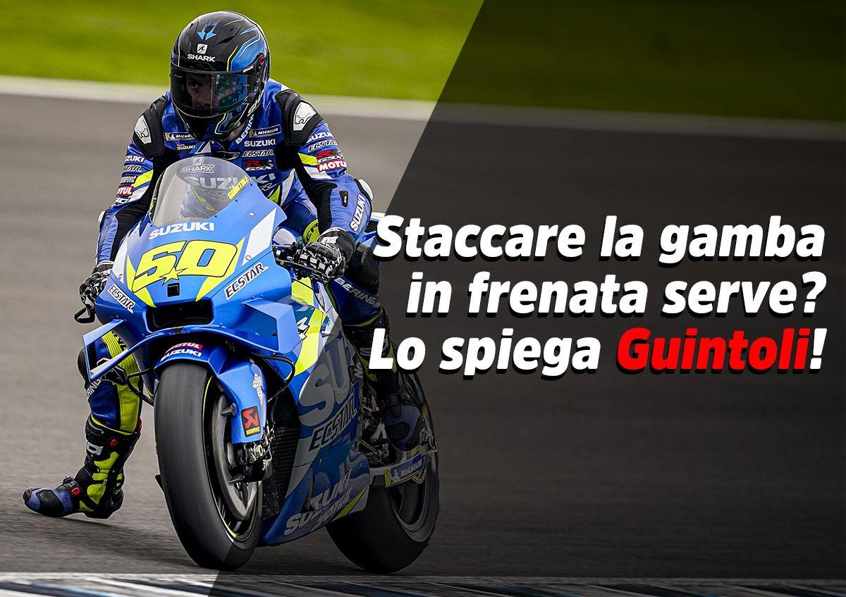 MotoGP, Guintoli: The MotoGP leg dangle? Let me explain what it's for