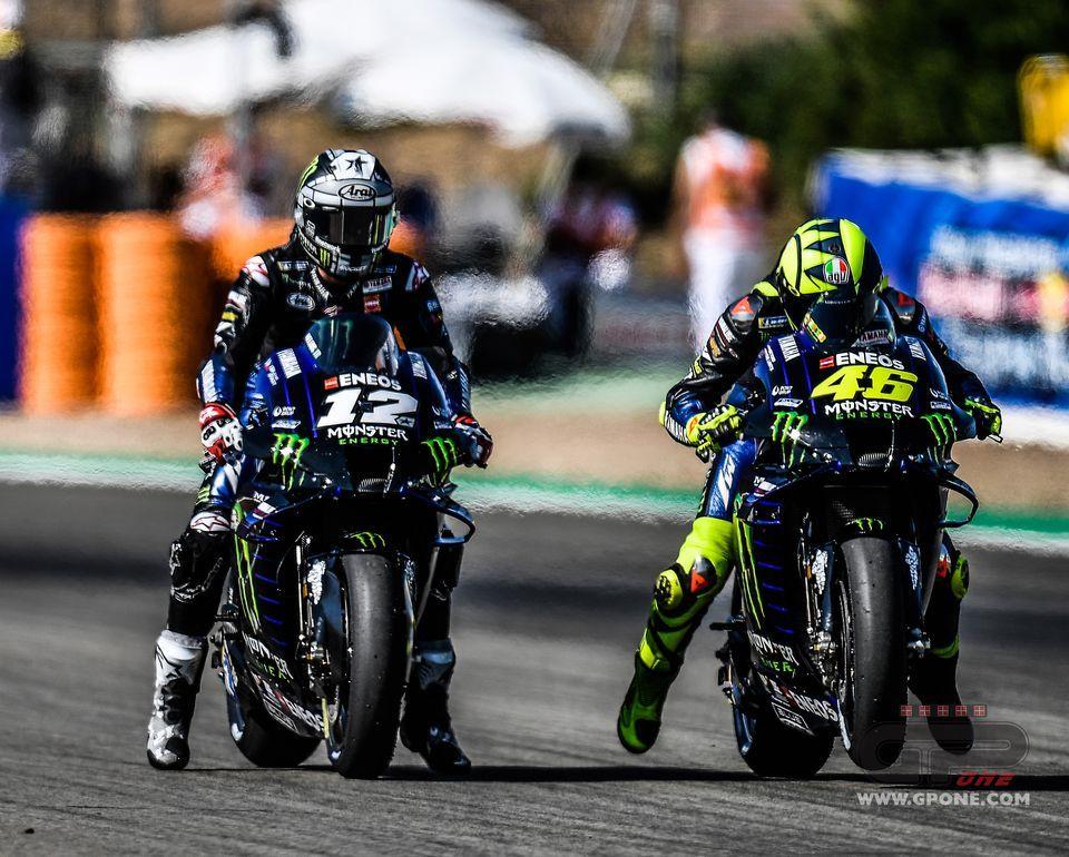 Motogp Yamaha Engine Alarm All Riders With New Engines At Jerez 2 Gpone Com