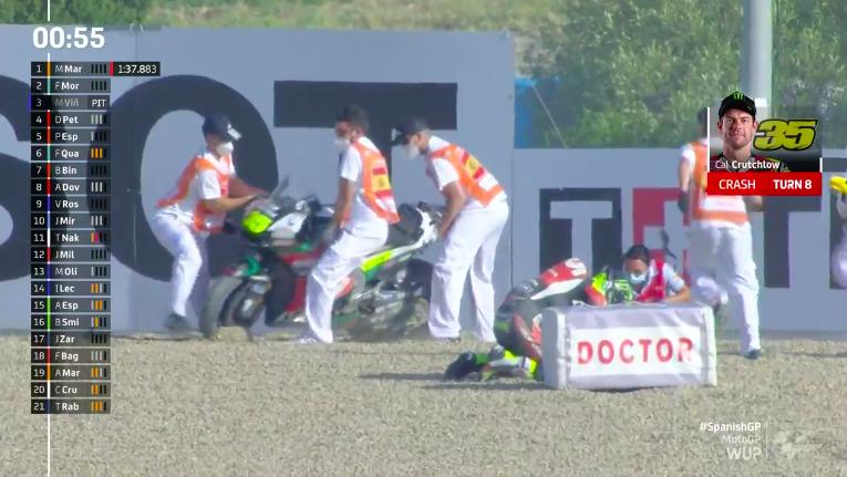 Marquez, si attendono esiti esami per scongiurare fratture