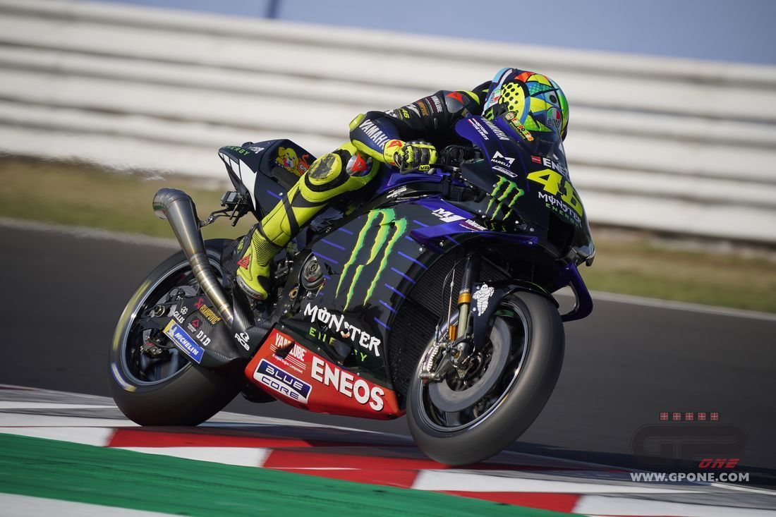 Motogp Rossi Upbeat After Positive Misano Test With New Exhaust Gpone Com