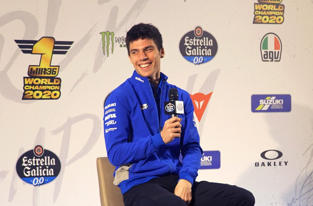 """MotoGP, Mir: """"Suzuki and I will have to improve if we want to fight against Marquez """""""
