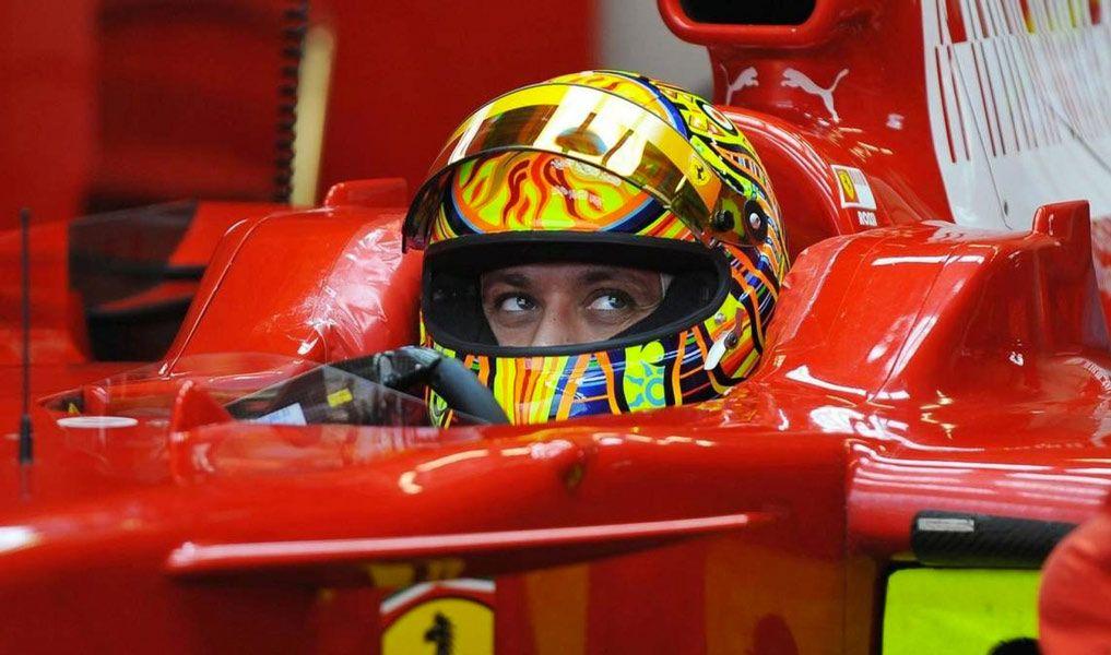 Valentino Rossi and Scuderia Ferrari