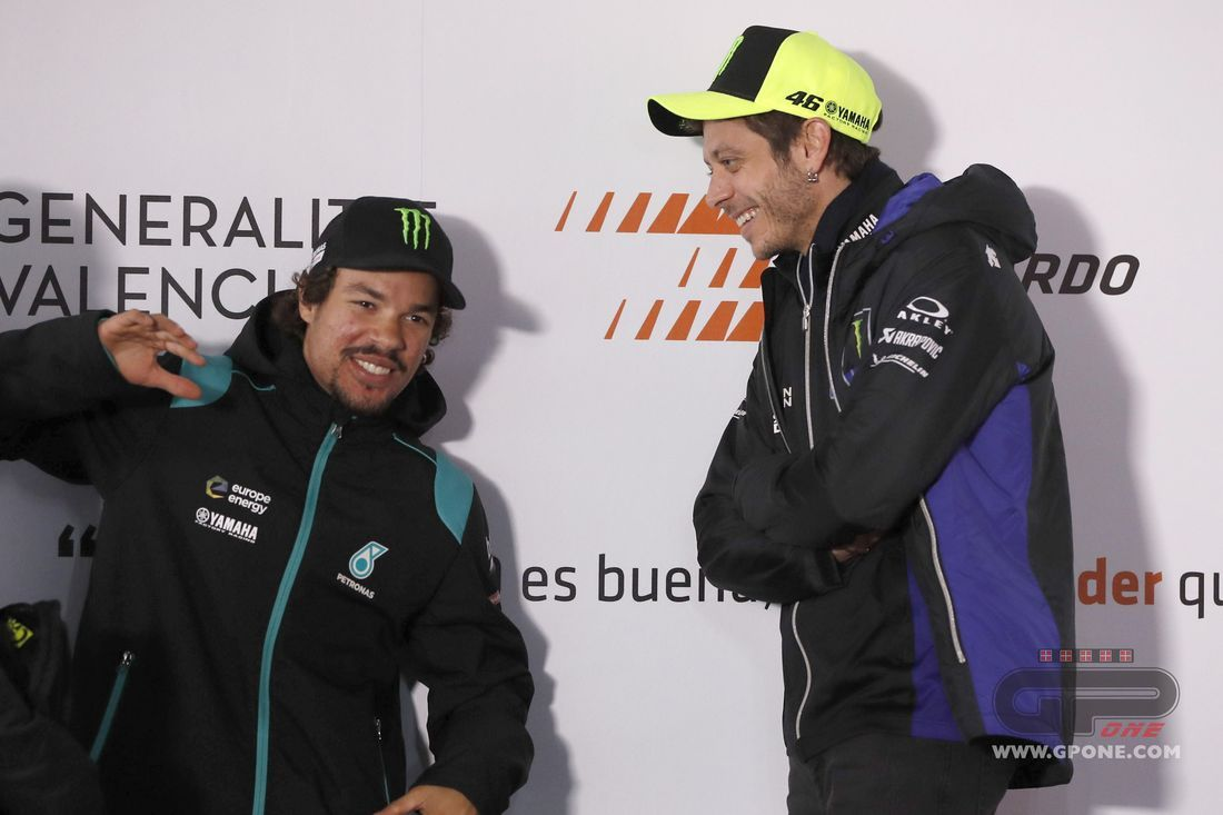 MotoGP, Rossi and Morbidelli: Yamaha's past and future meet in Petronas