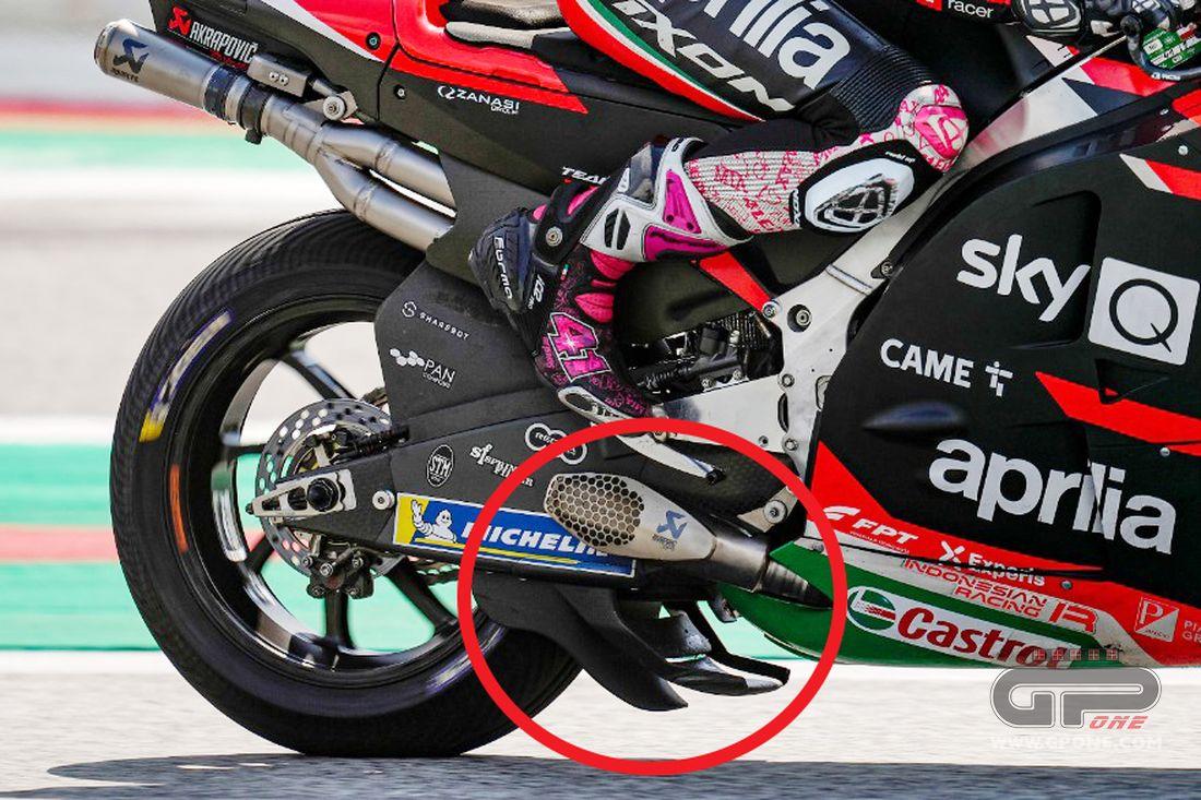 MotoGP, THE PHOTO - Aprilia doubles the spoons in the wet - GPOne.com