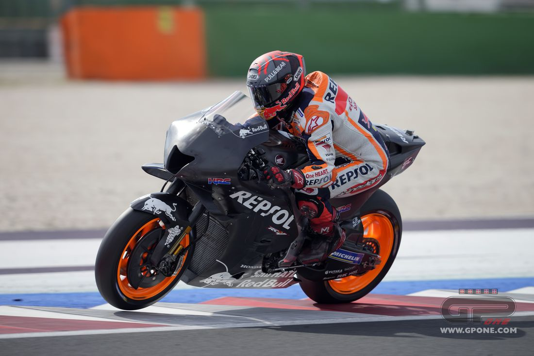 """MotoGP, Márquez: """"The new Honda 2022 is good in concept, but we need to work on it."""" - GPOne.com"""