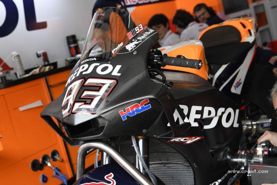 marquez carena 900x600 - Motogp Test UFFICIALI - Sepang - Malesia - 28/29/30 Gennaio 2018