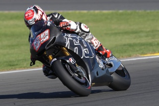 Nicky Hayden in sella alla Honda RCV 1000R