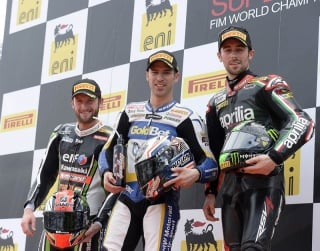 Melandri, Laverty e Sykes sul podio