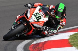 Eugene Laverty a Imola