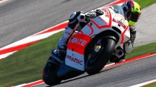 Yonny Hernandez sulla Ducati GP13 Pramac
