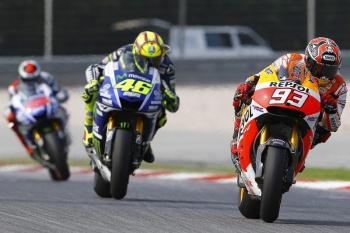 Valentino Rossi, Marc Marquez, Jorge Lorenzo