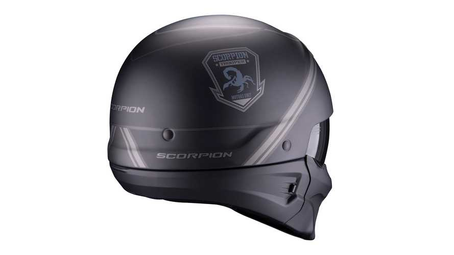 Exo Combat Evo, il casco street fght di Scoprion Sports