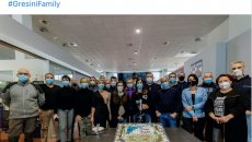 """MotoGP: The Gresini Team to Fausto: """"Happy birthday boss! Don't give up!"""""""