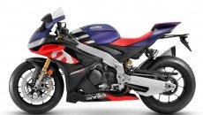 Moto - News: Aprilia RSV4 2021: aumenta la cilindrata, sale il prezzo