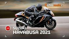 Moto - News: Suzuki Hayabusa 2021: la Regina delle maxi torna tutta nuova!