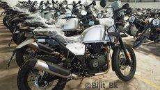 Moto - News: Royal Enfield Himalayan 2021, foto spia prima della presentazione