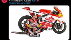 "Moto2: Fabio Di Giannantonio: ""Vi presento la mia nuova lei, si chiama Sara"""